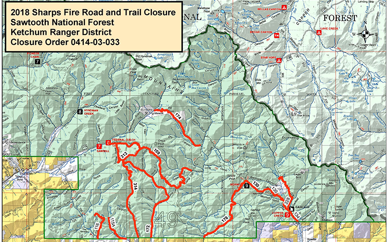 Sharps Fire Containment Increases as Some Closures Lifted on minnesota chippewa national forest map, salmon-challis national forest map, city of rocks national reserve map, denali national park and preserve map, caribou national forest map, deerlodge national forest map, gallatin petrified forest map, idaho map, lewis and clark national forest map, mt. baker national forest map, bering land bridge national preserve map, butte valley national grassland map, gallatin national forest map, cache national forest map, custer national forest map, sawtooth range idaho, sawtooth wilderness, green mountain national forest map, cda national forest map, magic valley mall map,